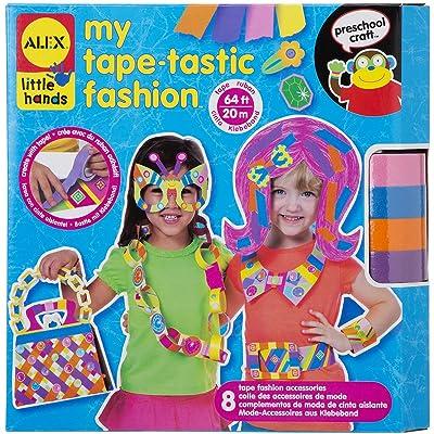 Alex Toys Little Hands 1524 - Kit De Loisirs Créatifs - Création De Mode En Rubans Adhésifs