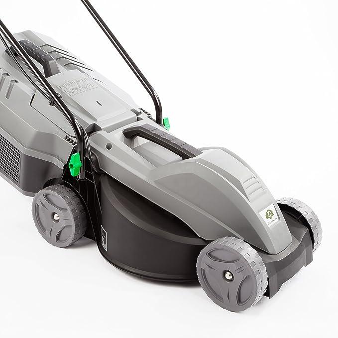 Ultranatura ER-100 - Cortacésped eléctrico (1000 W, anchura de corte de 30 cm, 3 alturas, 25 L)