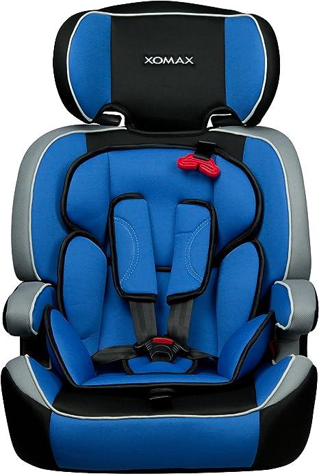 XOMAX XM-K4 + silla de coche para niños + Grupo I/II/III (9-36
