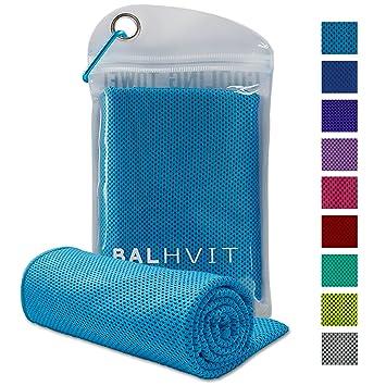 Balhvit Toalla de Enfriamiento, Transpirable Toalla Microfibra para de Instant Relief, Toalla de Hielo