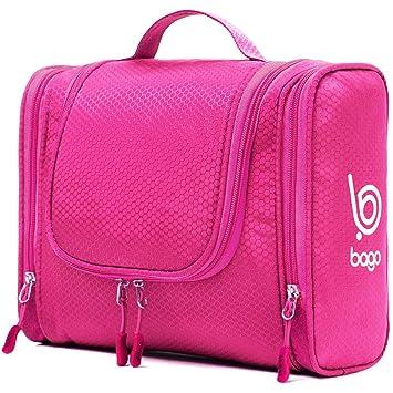 a914ce931c Amazon.com   Bago Hanging Toiletry Bag For Women   Men - Travel Bags ...