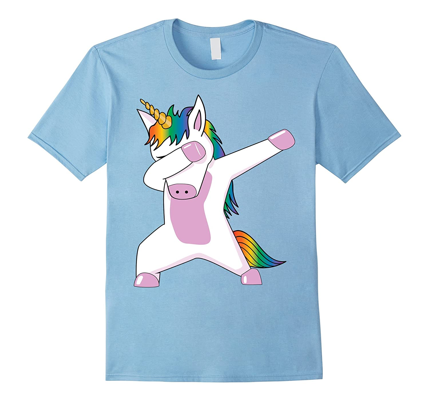Dabbing Unicorn T-Shirt - Women's and Youth-CL