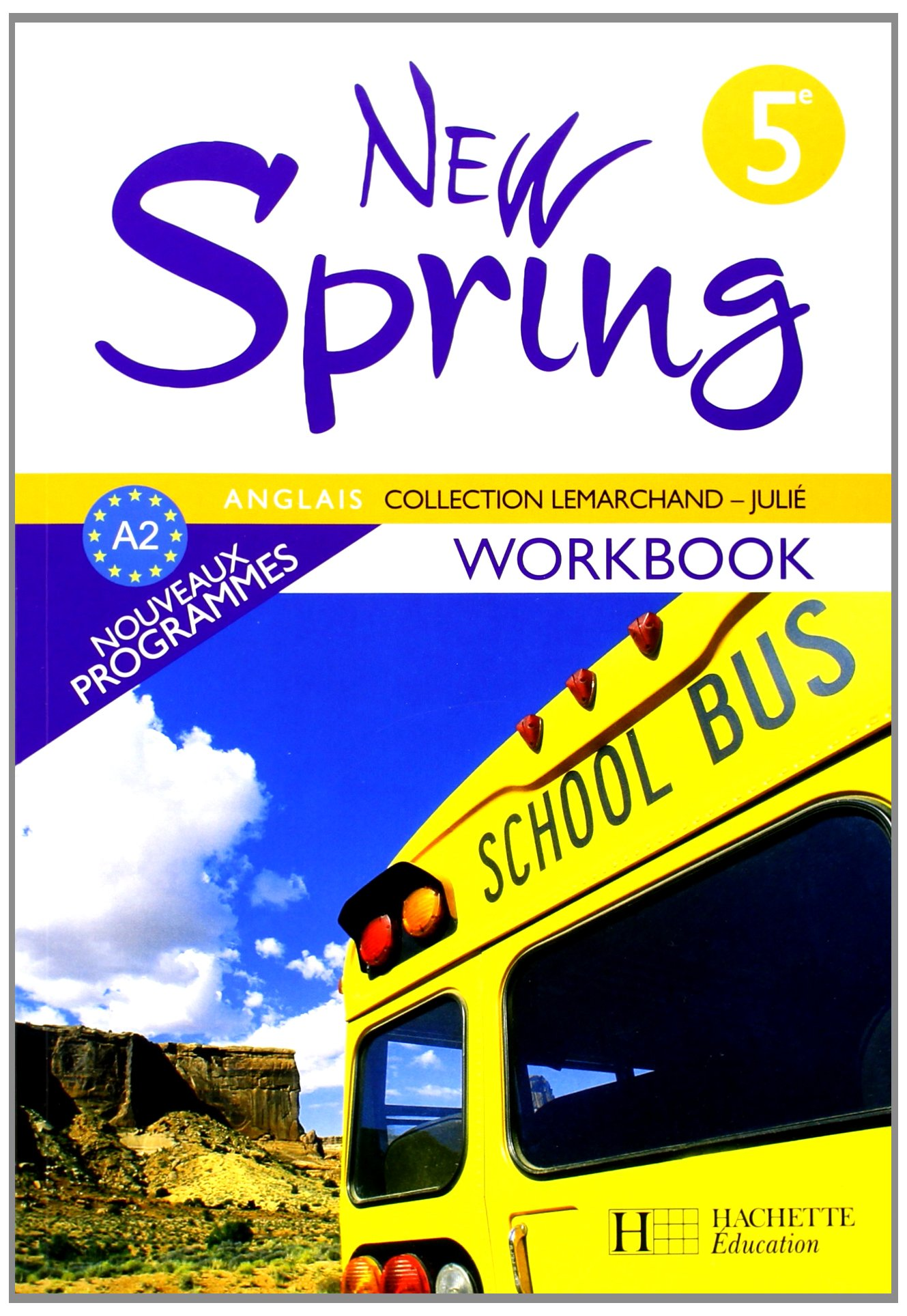 Amazon Fr Anglais 5e New Spring Workbook Francoise