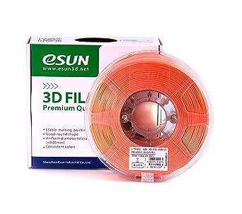 Amazon.com: Esun 1.75 mm ABS Filamento Impresora 3d 1 kg ...