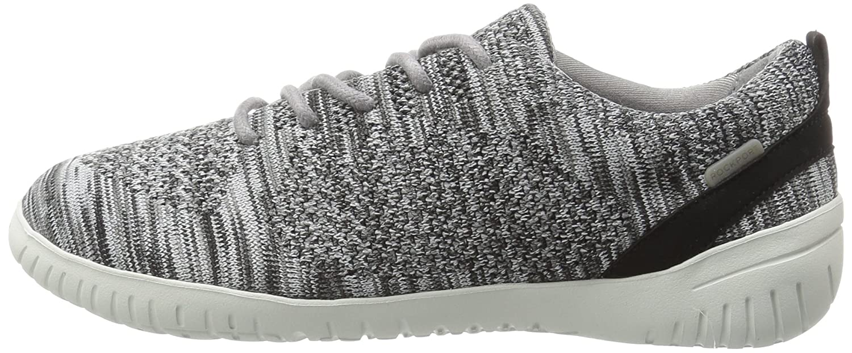 Rockport Women's 5 Raelyn Knit Tie Fashion Sneaker B01JMKQ5V6 5 Women's B(M) US|Black Heather 5b778b