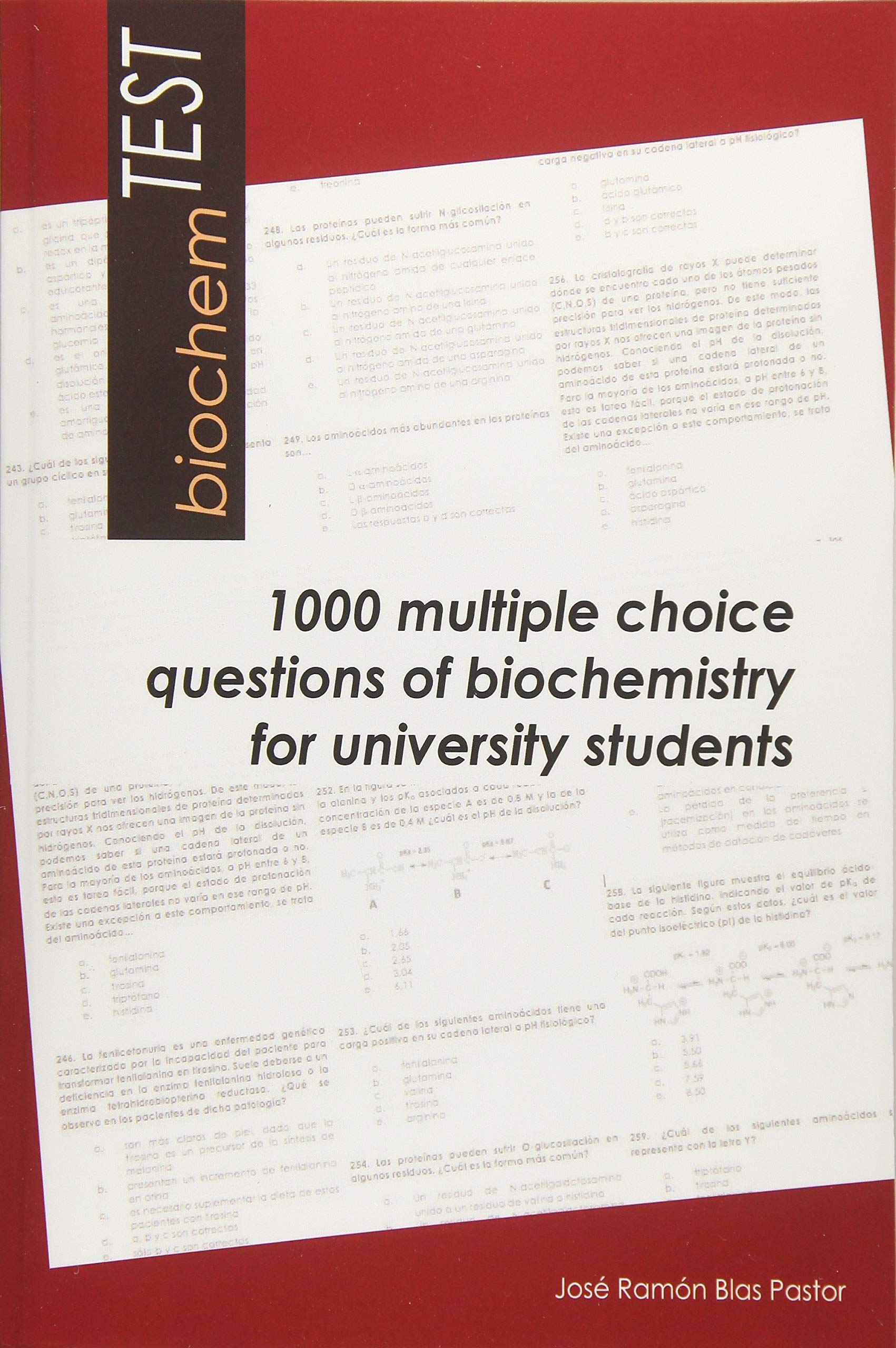 biochemTEST: 1000 multiple choice questions of biochemistry ...
