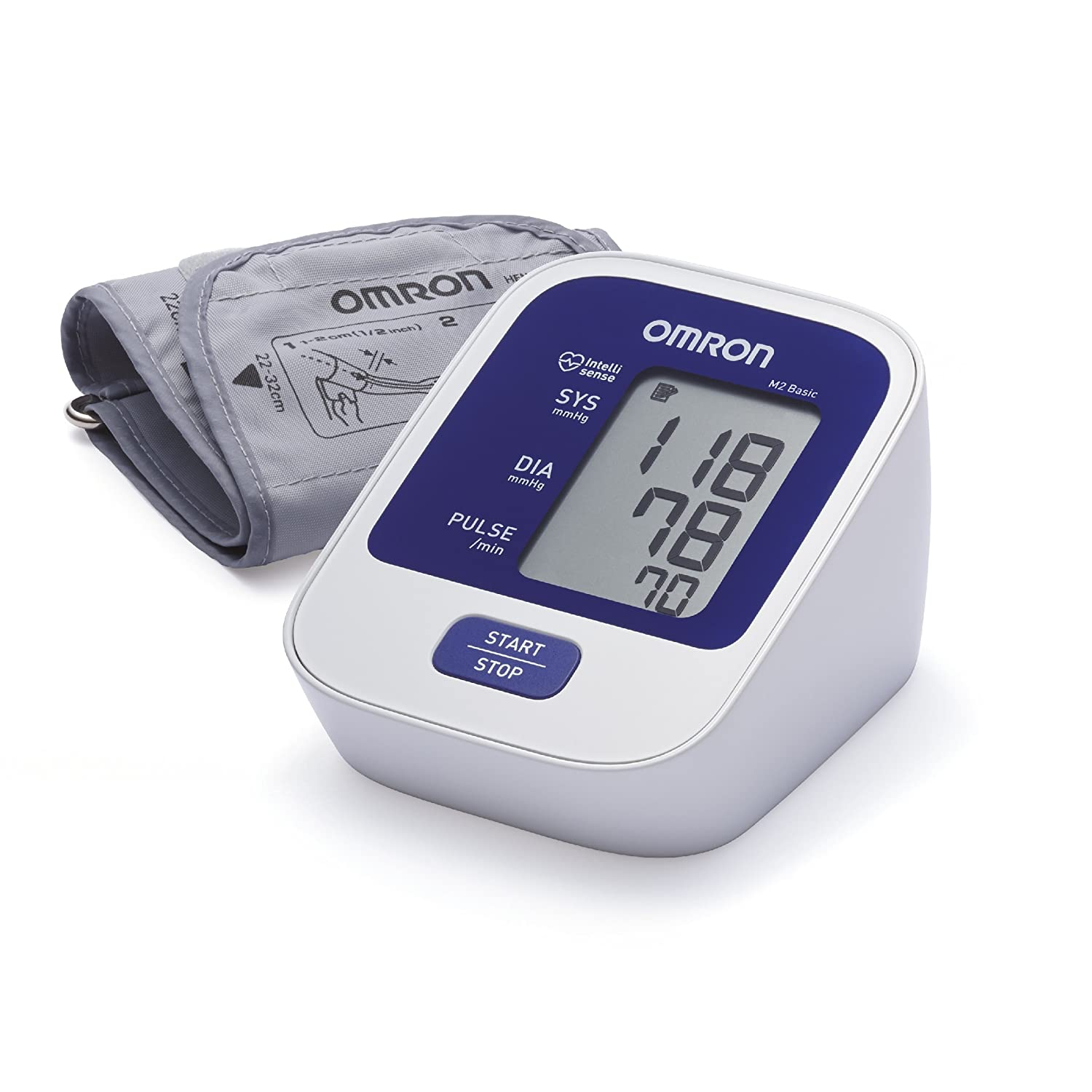 Omron M2 Basic Upper Arm Blood Pressure Monitor UK