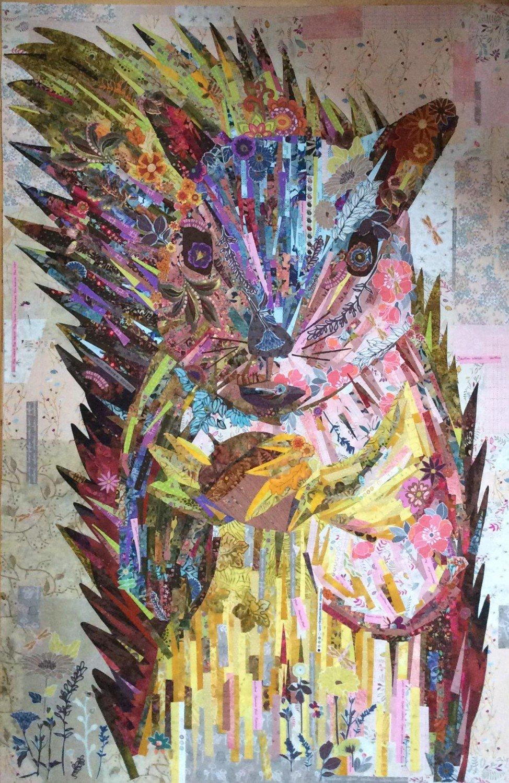 Hazel Nutt Quilt Pattern by Laura Heine Fiberworks