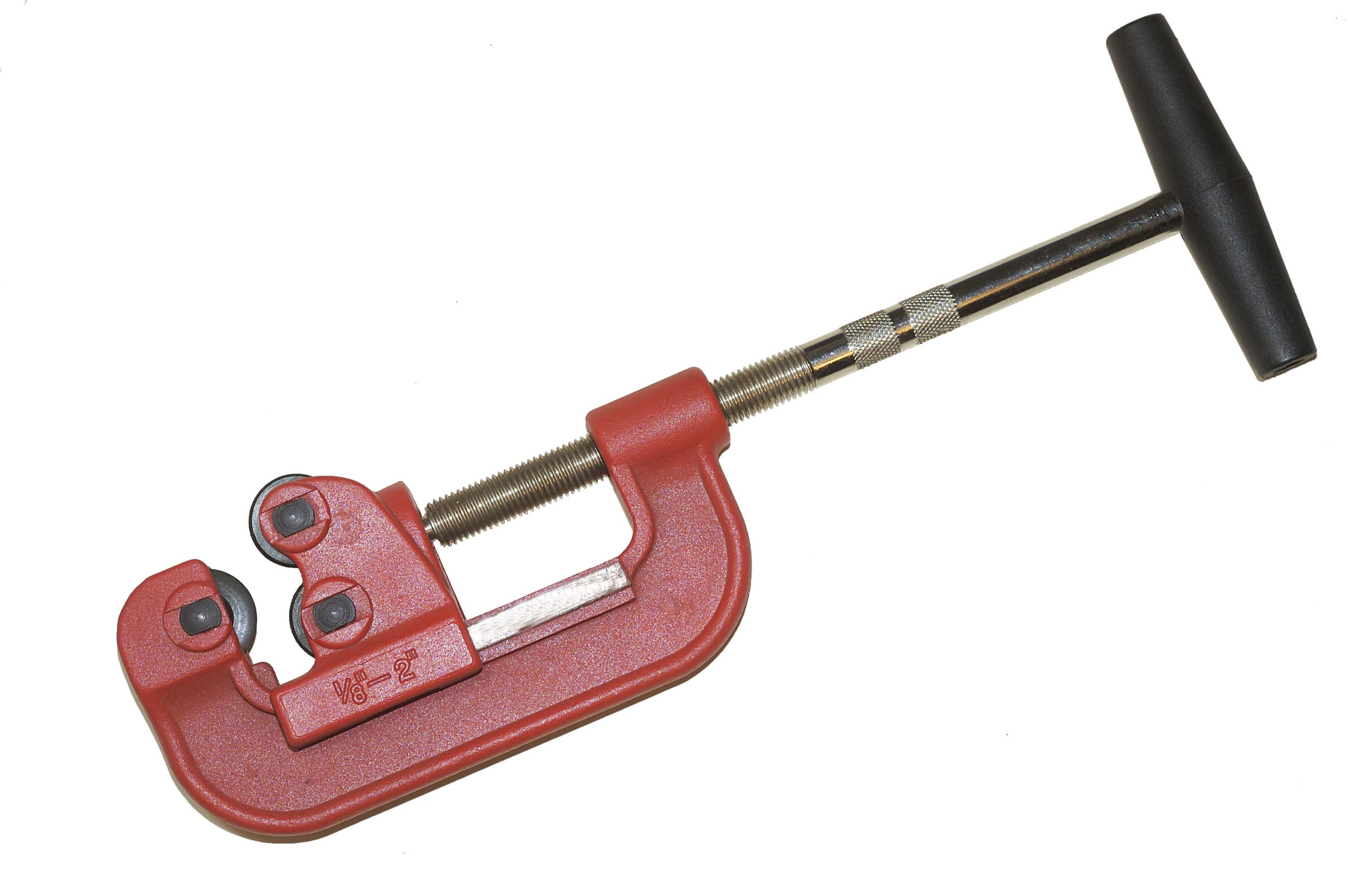 Superior Tool 02802 2'' Heavy Duty Pipe Cutter-Cast Iron Pipe Cutter for 1/2'' to 2'' Schedule 40 Pipe