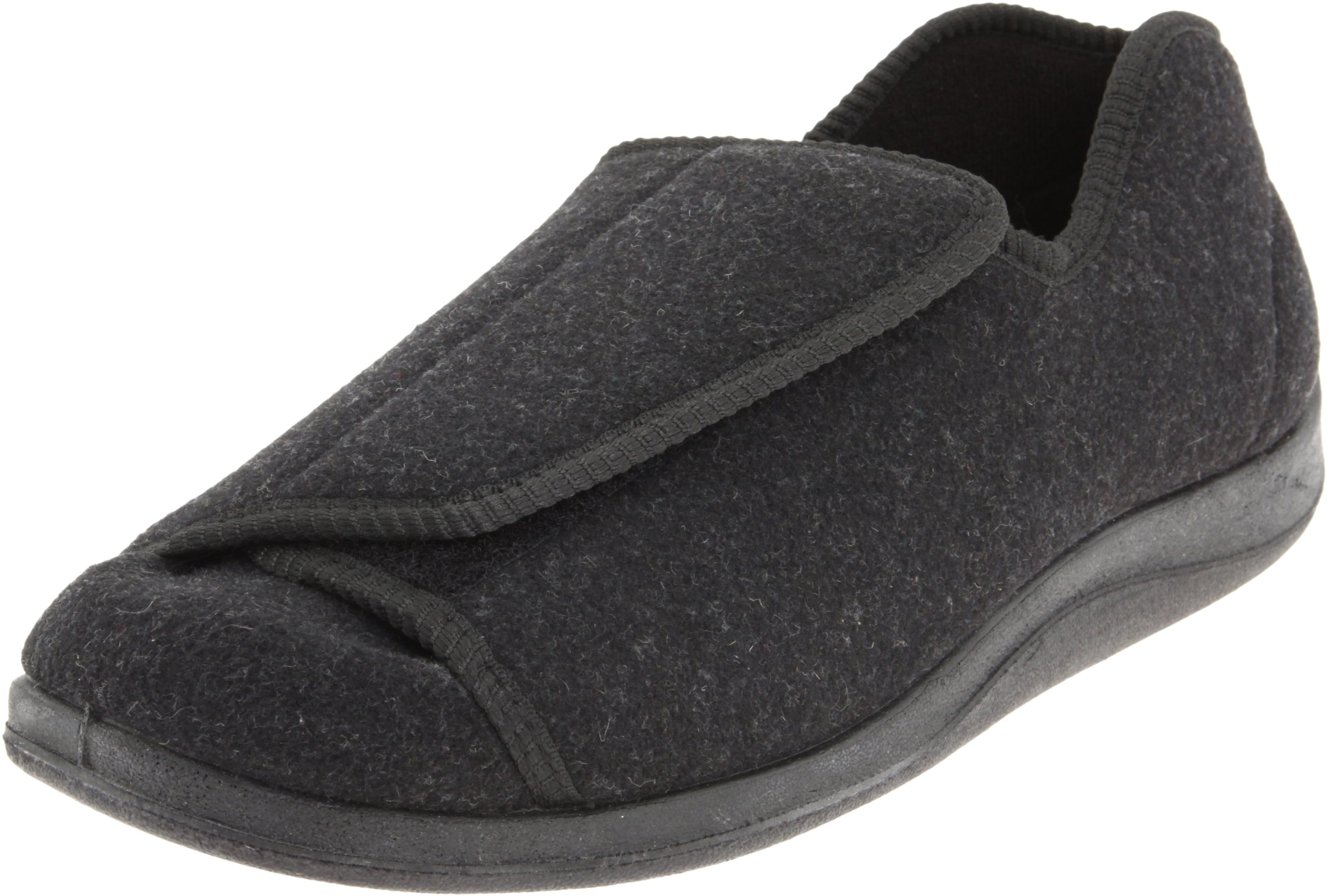 Foamtreads Men's Doctor, Charcoal Wool, 14 W US