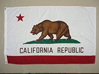 product image for 5x8' California 2ply Polyester State Flag