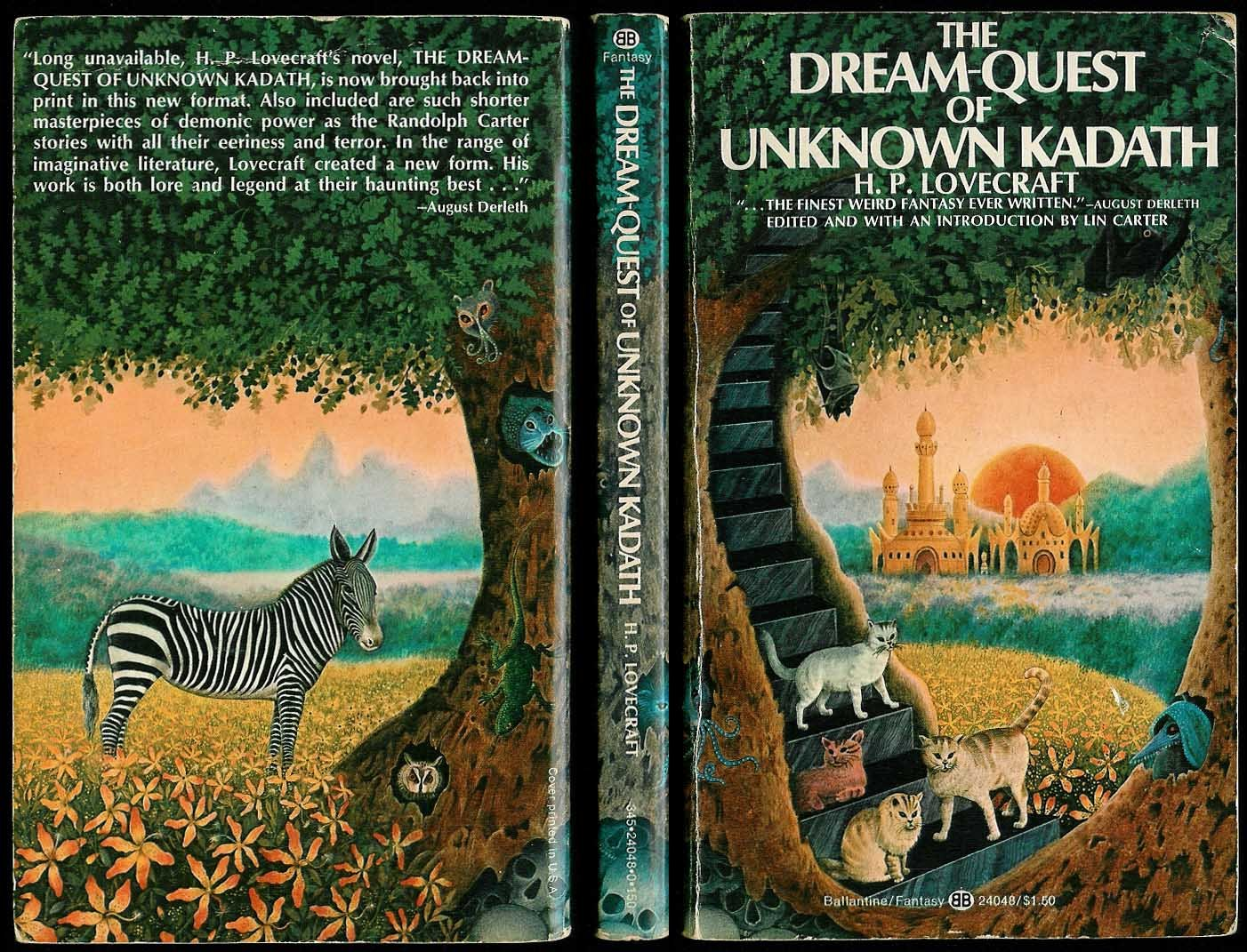 Image result for dream quest of unknown kadath