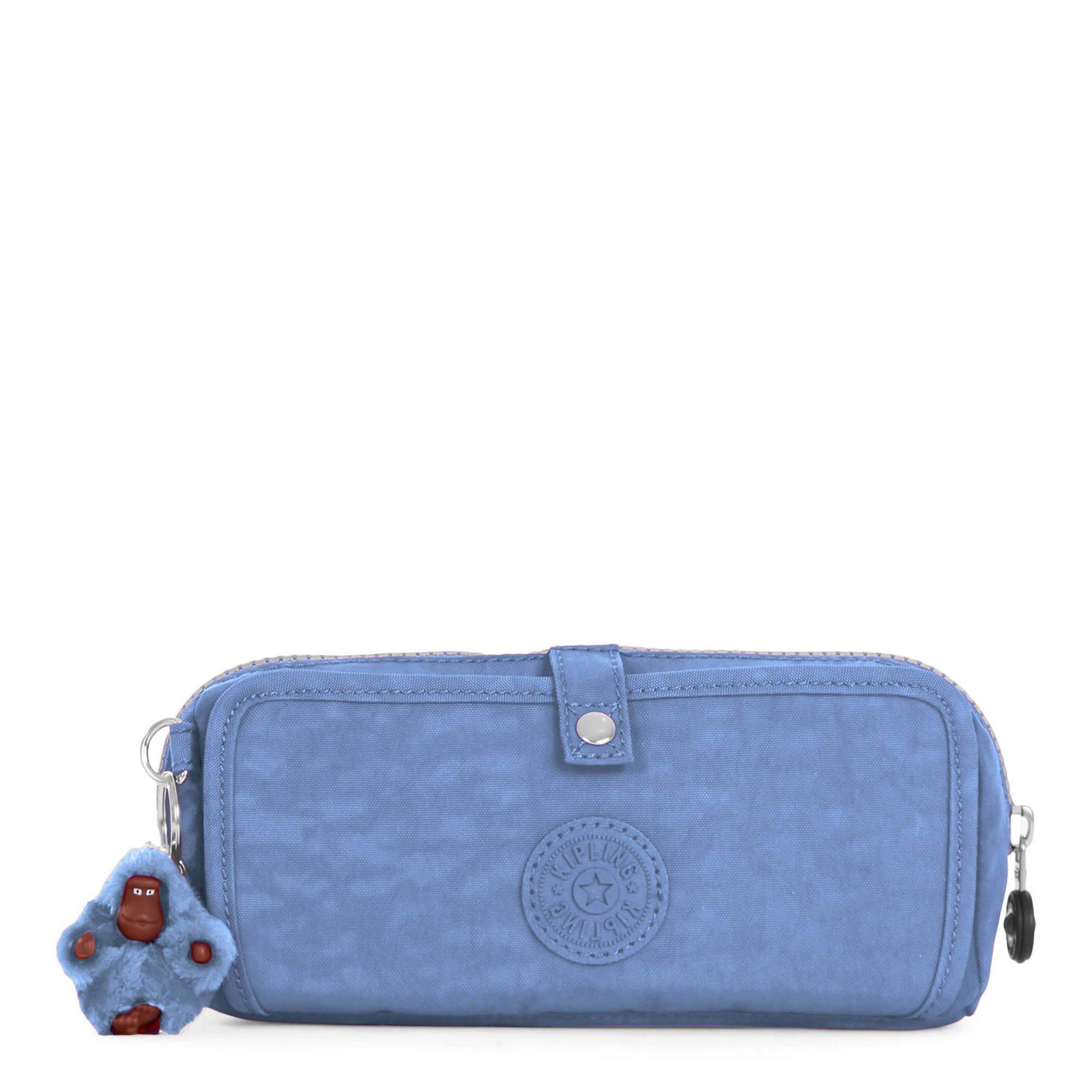 Kipling Women's Wolfe Pencil Pouch One Size Dream Blue
