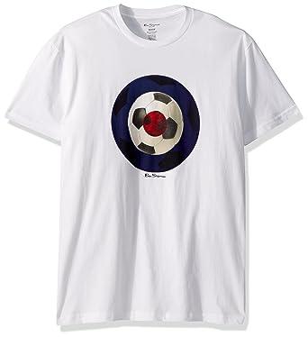9703e7843 Amazon.com: Ben Sherman Men's Football Target Graphic Tee: Clothing