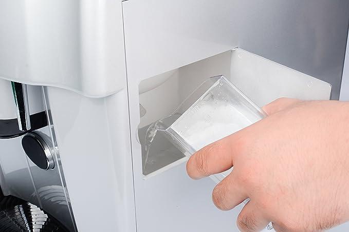 Dispensador de hielo 4072: dispensador de hielo + dispensador de cubitos de hielo + dispensador de agua fría - conexión de agua externa o rellenable ...