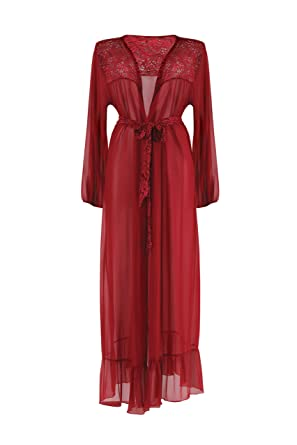 Fantasy Lingerie Harlow Dressing Gown at Amazon Women s Clothing store  8210abb0f