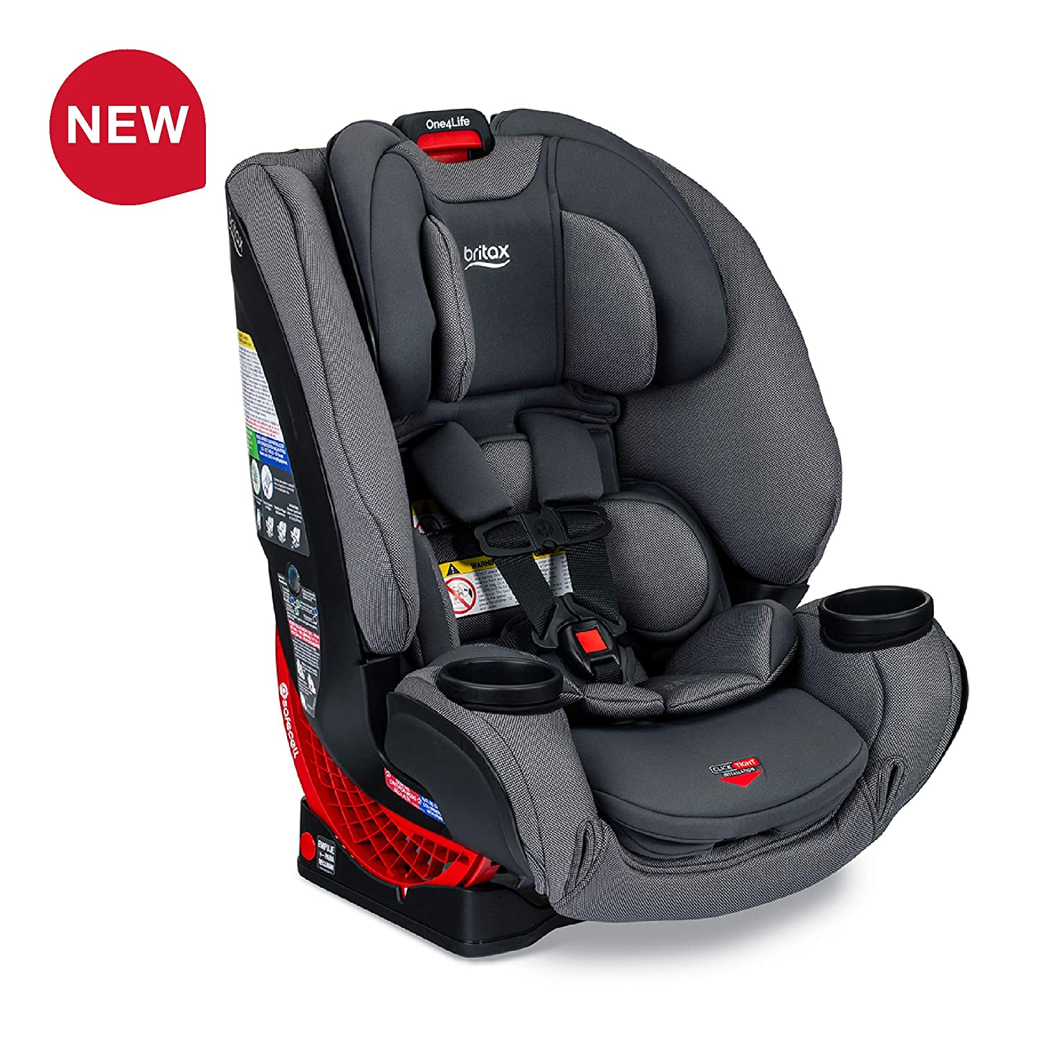 Admirable Britax One4Life Clicktight All In One Car Seat 10 Years Of Use Infant Convertible Booster 5 To 120 Pounds Safewash Fabric Drift Dailytribune Chair Design For Home Dailytribuneorg