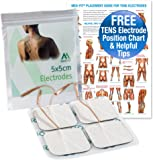 Med-Fit Long Lasting Self Adhesive Pads for TENS machines Comes with helpful placement chart