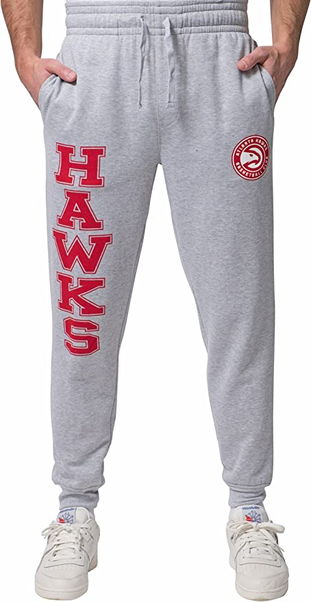 Unk Nba Para Hombre Pantalones Active Basic Suave Terry Pantalones Logotipo Del Equipo Gris Amazon Com Mx Deportes Y Aire Libre