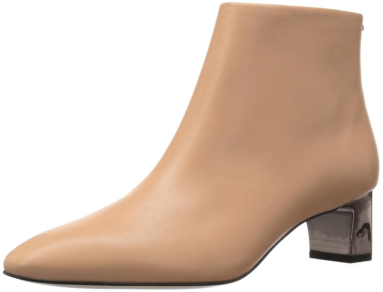 Calvin Klein Women's Mimette Leather Ankle Boot B071JN6QN5 9 B(M) US|Sandstorm