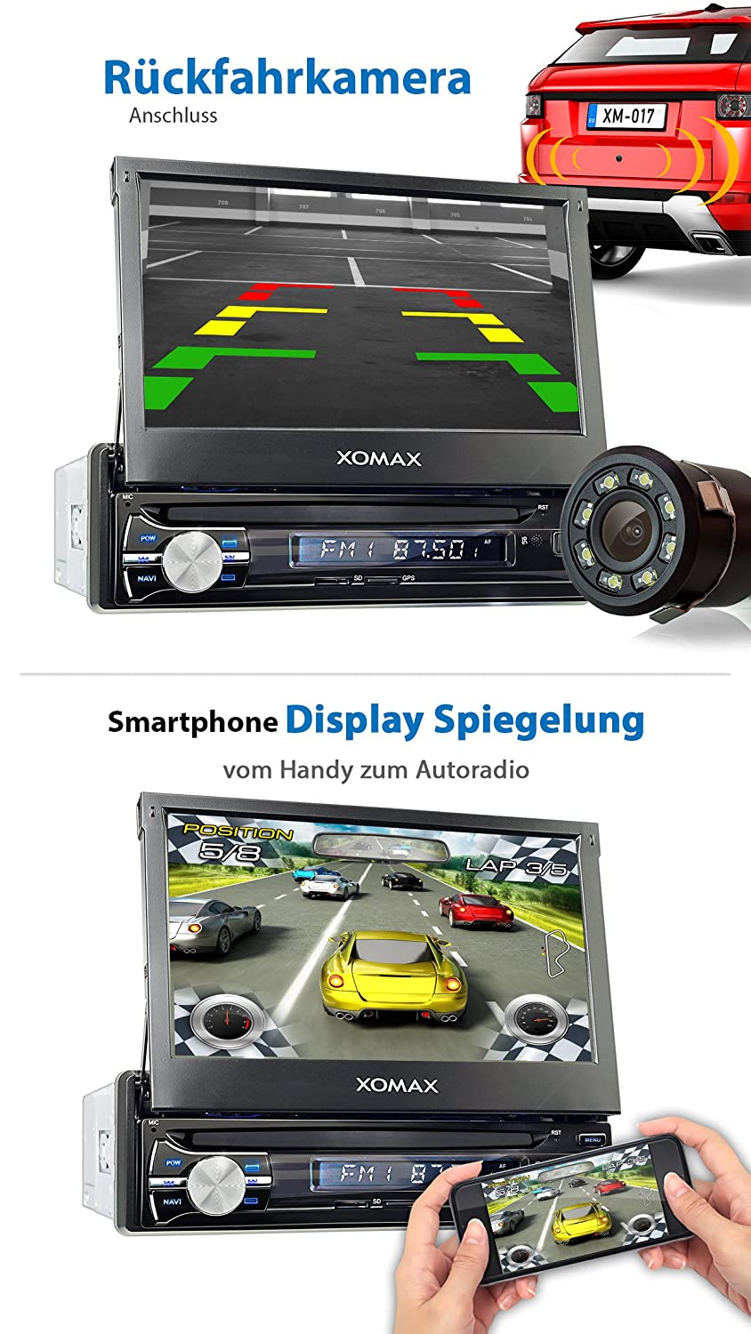 XOMAX Xm-Va714 Android 6.0.1 Car Radio: Amazon.in: Electronics
