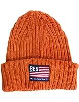 (ベンデイビス)BEN DAVIS COTTON KNIT CAP [FLAG]