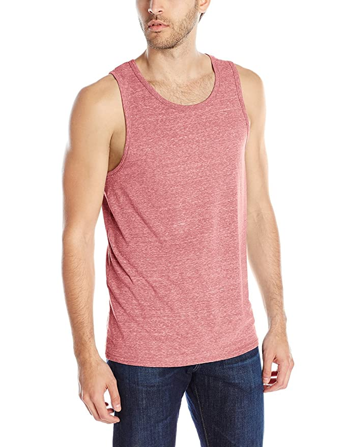 eb2c06ed134 Men s Tri-Blend Tank Top Active Soft Muscle Fit Shirts at Amazon Men s  Clothing store