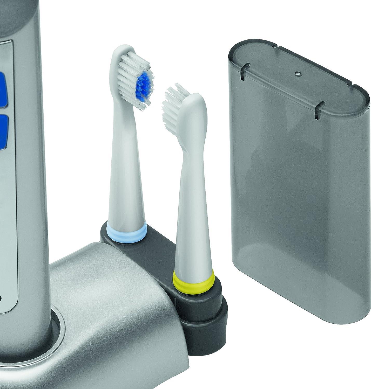 AEG EZS 5664 - Cepillo de dientes con tecnología sónica y temporizador, 5 niveles de cepillado, recargable, color plateado: AEG: Amazon.es: Salud y cuidado ...