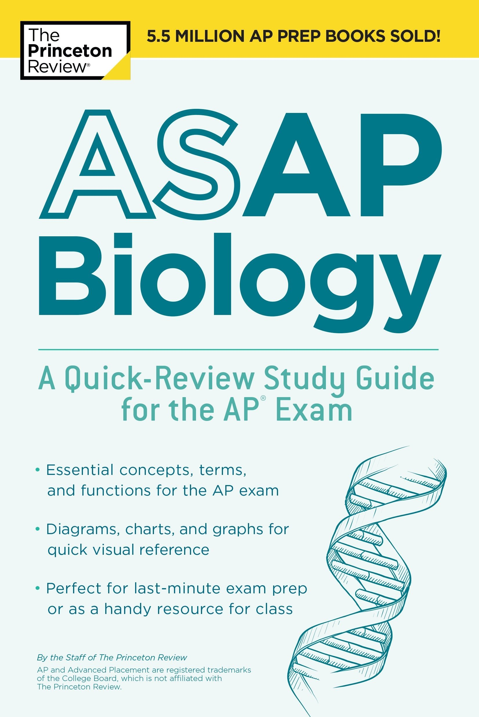 Amazon.com: ASAP Biology: A Quick-Review Study Guide for the AP Exam  (College Test Preparation) (9781524757649): Princeton Review: Books