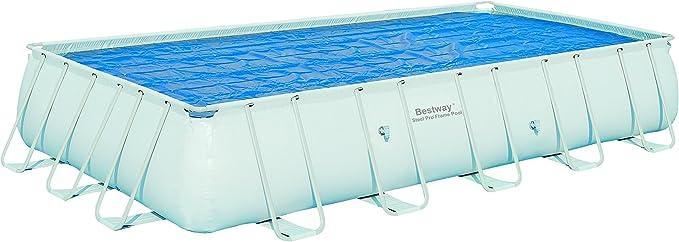 Bestway - Cobertor Solar Rectangular para piscinas con tamaño ...