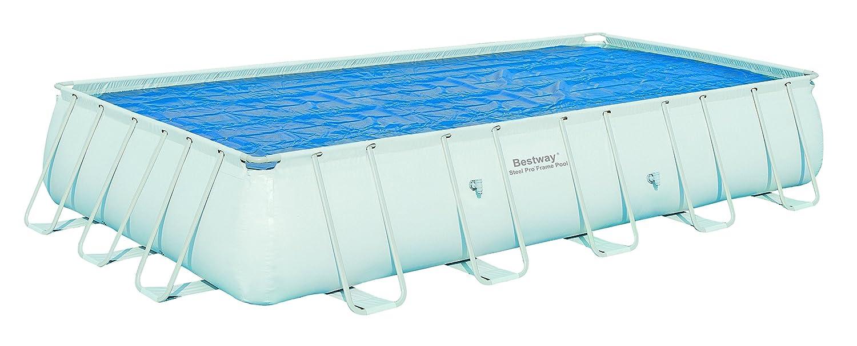 Bestway - Cobertor Solar Rectangular para piscinas con tamaño 671x366cm: Amazon.es: Jardín
