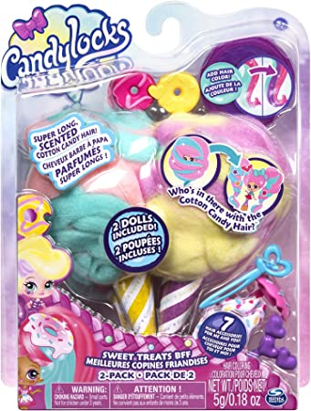 Amazon.es: Candy Locks Pack de dos Muñecas Modelos Surtidos (BIZAK 61921971): Juguetes y juegos