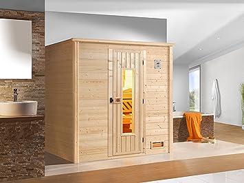 Weka sauna de Madera 530 HT Gr, 1 incluido 7.5 kW Bio-estufa: Amazon.es: Bricolaje y herramientas