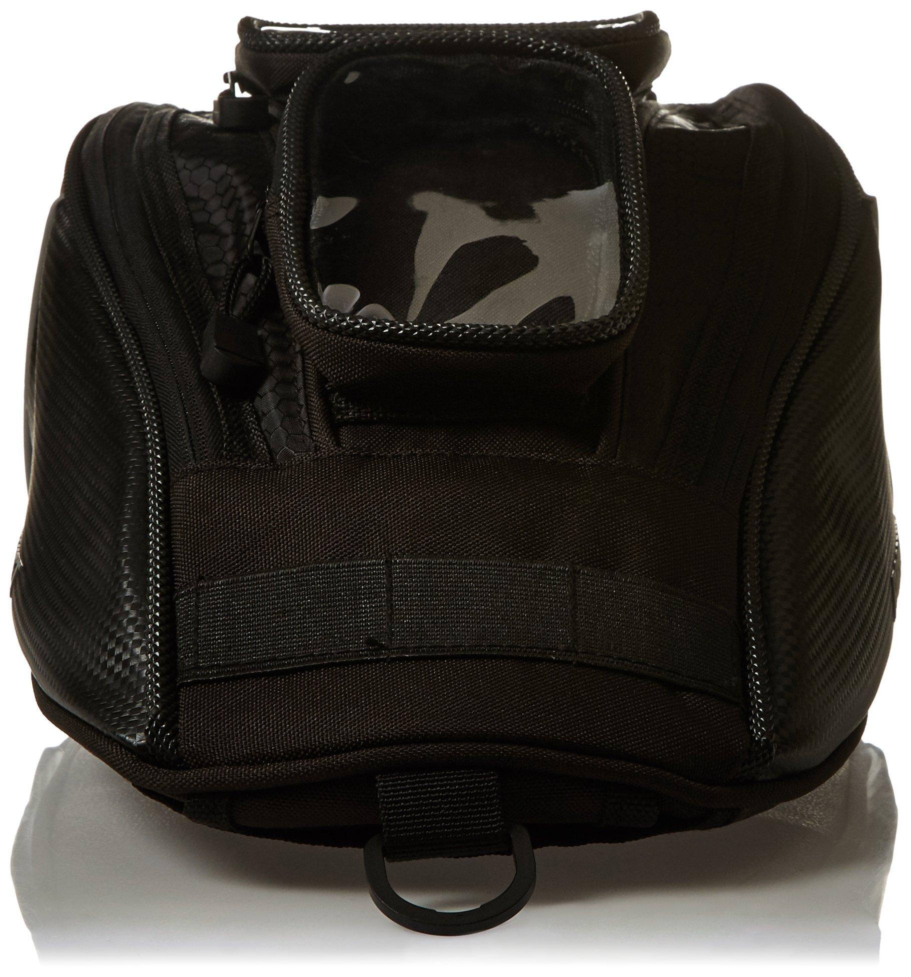 Joe Rocket 9059-0800 Hammerhead Black/Carbon 15'' x 8'' x 5'' Motorcycle Tank Bag