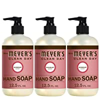 Deals on 3-Pack Mrs. Meyers Clean Day Liquid Hand Soap, 12.5 fl oz