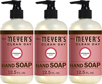 3-Count Mrs. Meyers Clean Day Hand Soap 12.5 Fl Oz