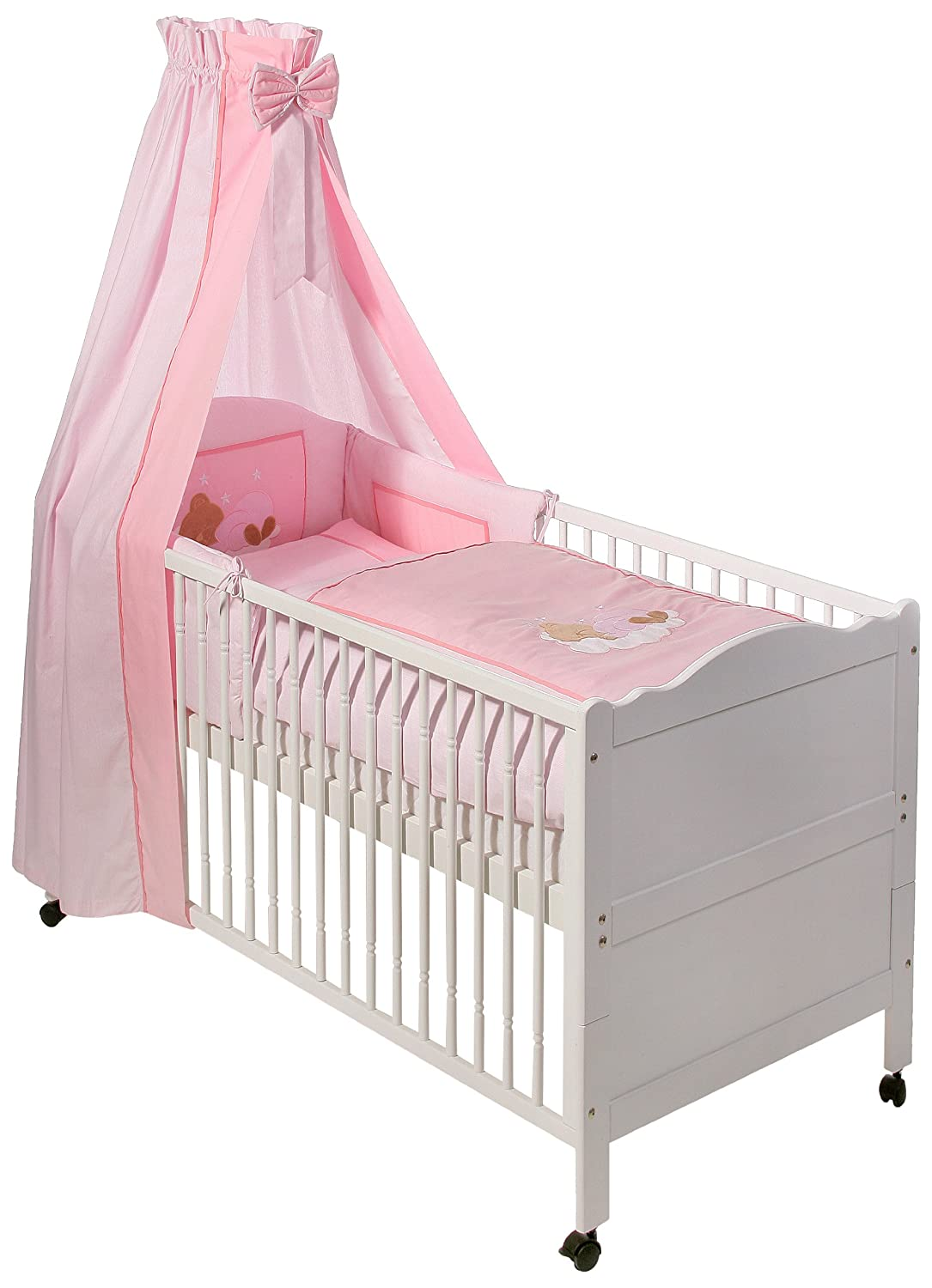 Easy Baby Bettset - Sleeping Bear Rose