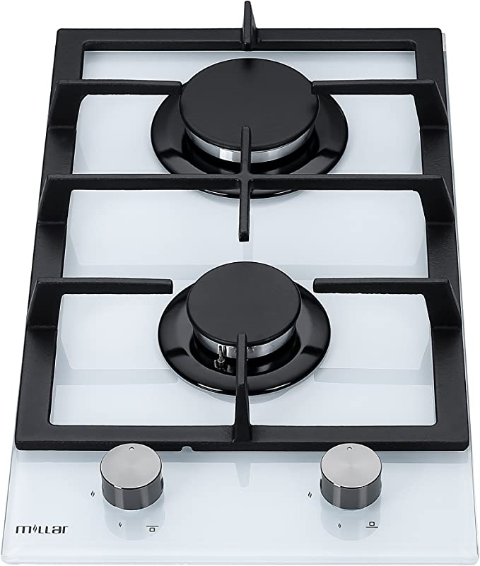 Plaque de cuisson et Brûleur Boutons 6 X Universel Blancs Pour Four Cuisinière