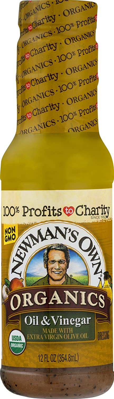 Newman's Own Organics Oil & Vinegar Salad Dressing, 12-oz. (Pack of 6)