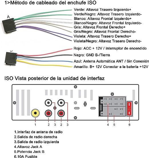 Autoradio Bluetooth, CENXINY FM 4x65W Radio Para Coche Llamadas Manos Libres Control Remoto Radio stéreo de Coche con Reproductor de MP3 USB y ...