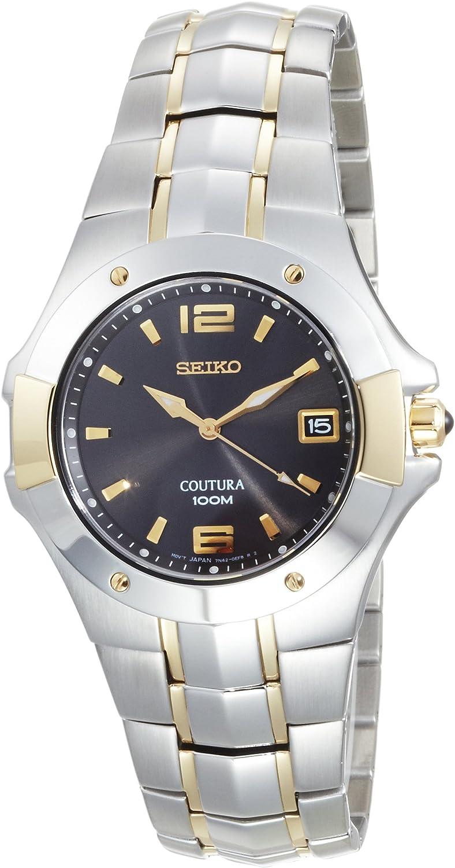 Seiko Men s SGEB76 CouturaTwo-Tone Watch