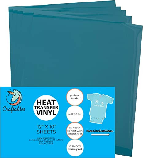 All Craft Cutters Craftables Fuschia Heat Transfer Vinyl Roll HTV 11 ft Ships Flat Heat Press Guaranteed Size Cricut - Easy to Weed Tshirt Iron on Vinyl for Silhouette Cameo