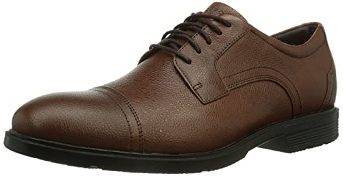 Rockport Men's City Smart Cap Toe Formal A12160 Tan Scotch Grain 8 UK (42EU)