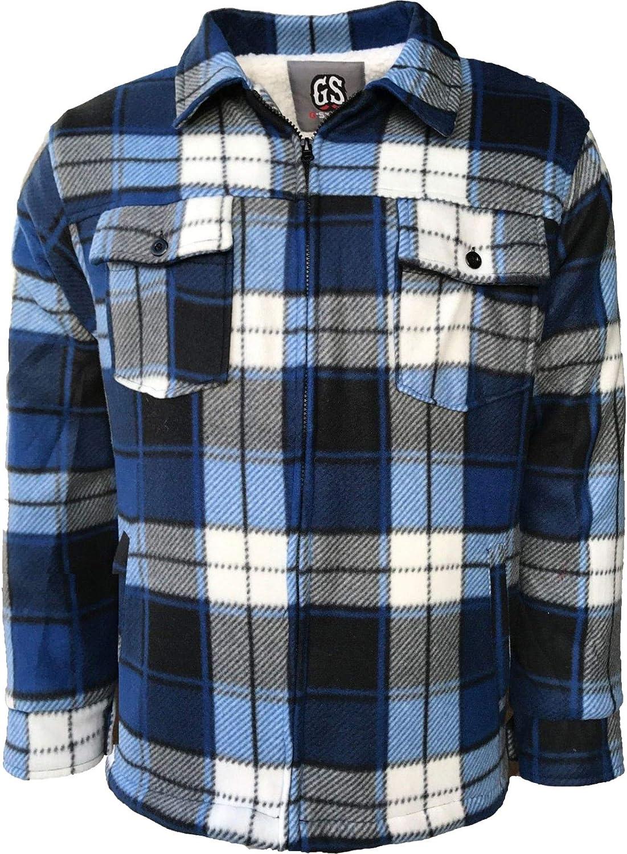 High Mountain - Camisetas de verificación con forro polar para hombre: Amazon.es: Ropa y accesorios