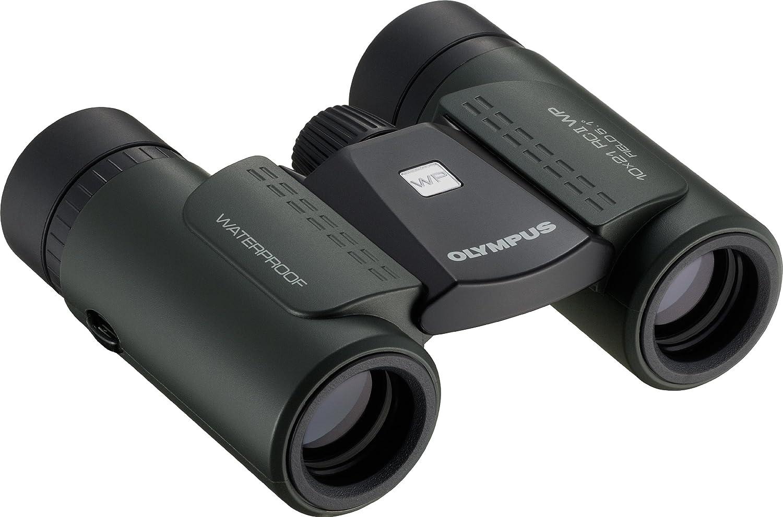 Olympus 10 X 21 Rc Ii Wp Fernglas Dunkelgrün Kamera