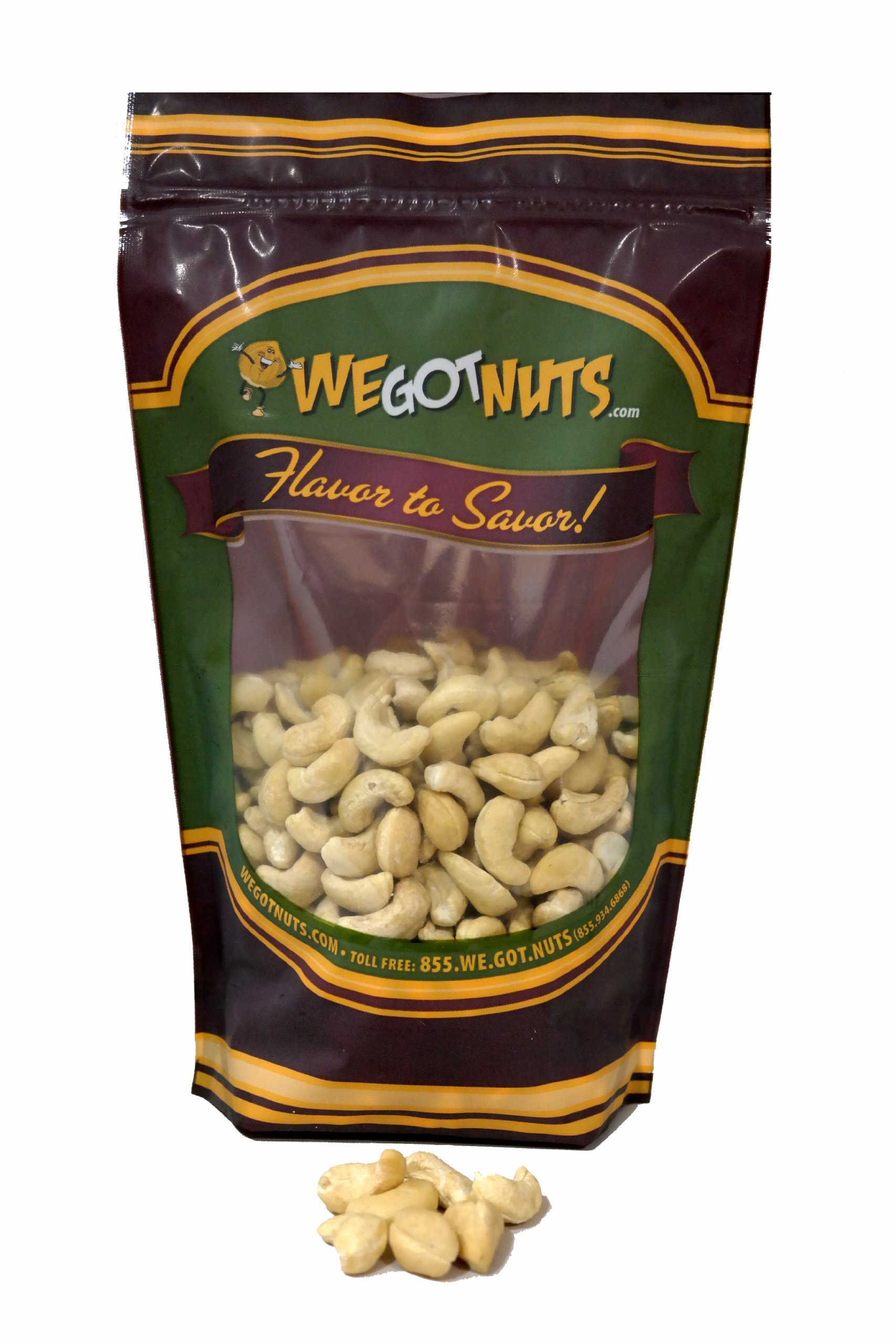 Cashews, Whole, Raw, 320, Bulk Nuts - We Got Nuts (10 LBS.) by We Got Nuts (Image #1)