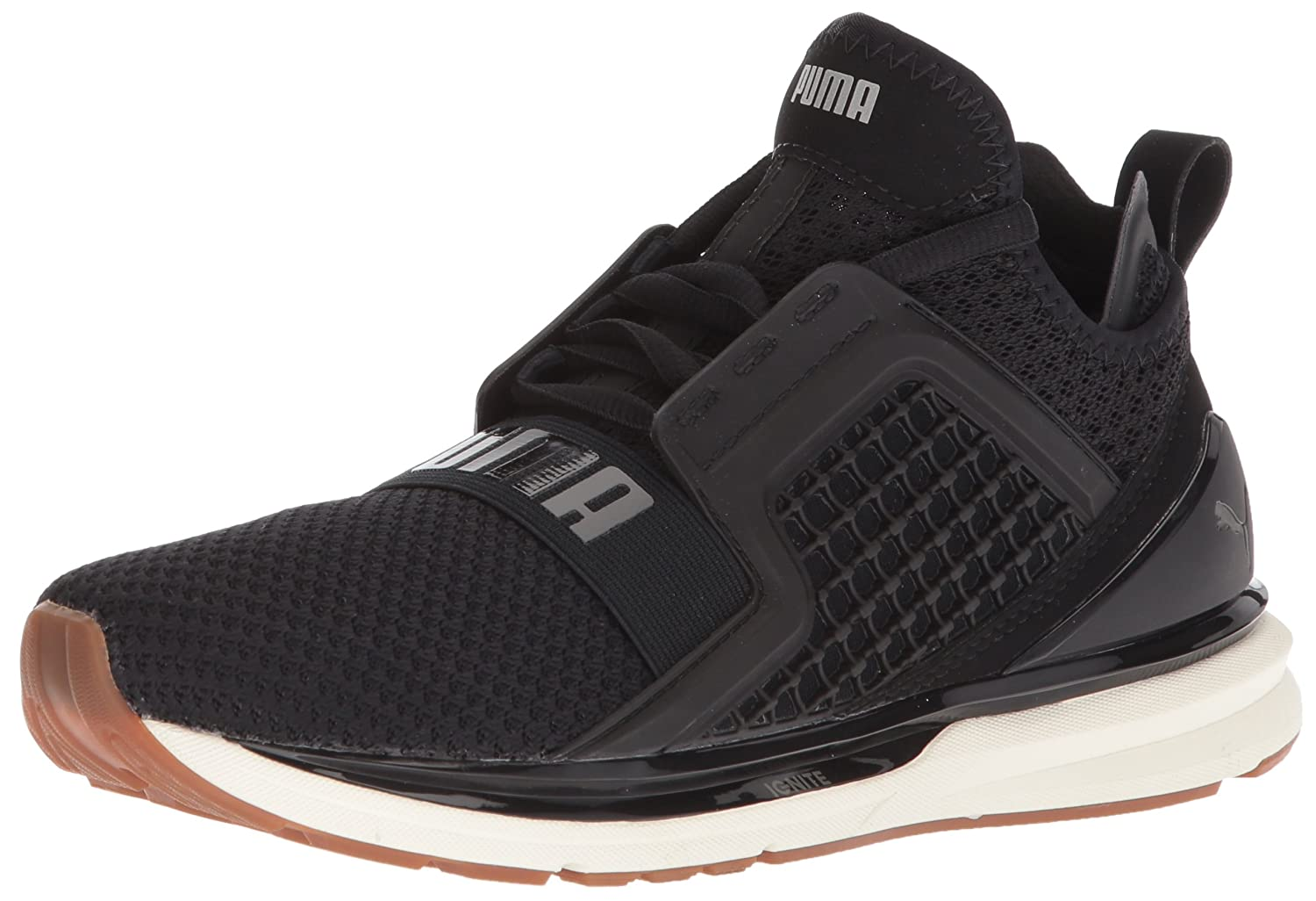 PUMA Women's Ignite Limitless Weave Wn Sneaker B071X77WL3 5.5 M US|Puma Black-rock Ridge