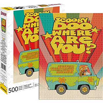 Aquarius Scooby Doo Where are You 500pc Puzzle, Multi-Colored: Toys & Games