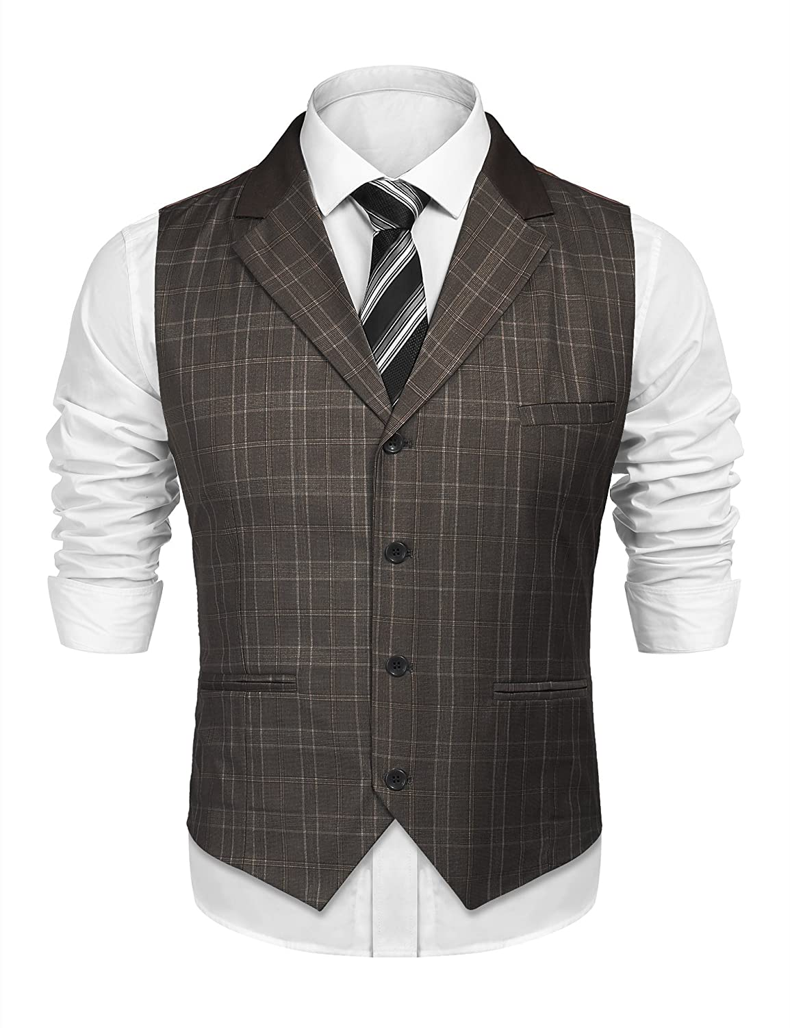 c6d4d1e8ca7 80% Polyester   20% Viscose DESIGN  This waistcoat is casual but decent. So  it is your great choice to wear for business