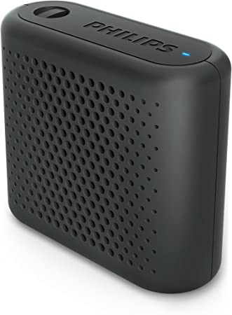 Philips Audio BT55B/00 - Mini Altavoz Bluetooth Inalámbrico Portatil, Compatible con Smartphones, iPhone, Android y Tablet, Negro: Philips: Amazon.es: Electrónica